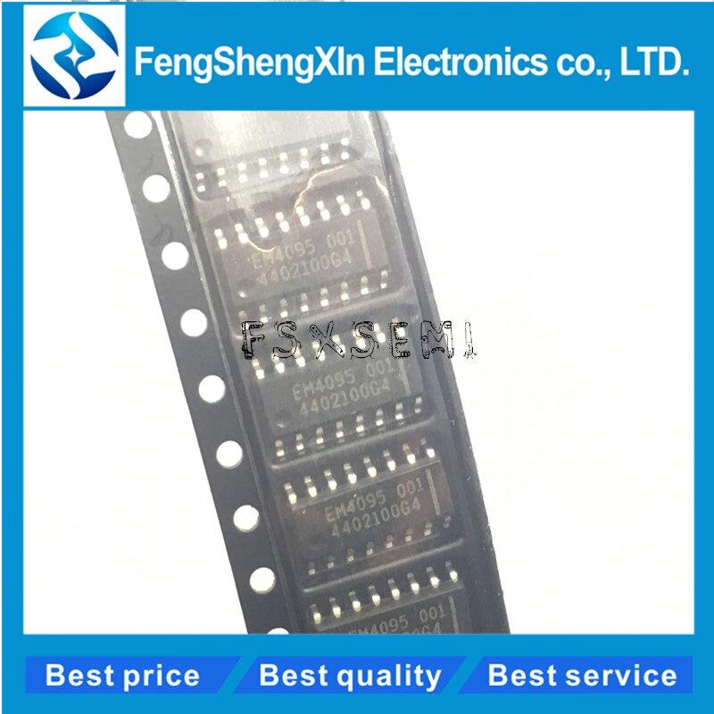 10pcs/lot New EM4095HMS016A EM4095 SOP-16 Card reader chip