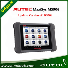 2016 Online Free Update Autel Maxisys MS906 auto diagnostic ds708 scanner tool with free shipping by dhl