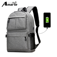 2017 New Design USB External Laptop Backpacks Canvas Rucksack Backpacks New Fashion Travel Backpack Boy Girls