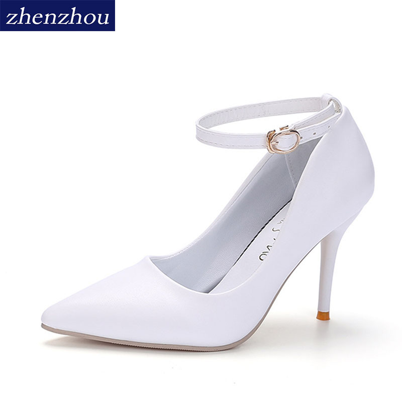 zhen zhou 2017 spring and autumn women's new fashion trend leadership Sexy heels Night club Light mouth single shoes Fine point кольцо сальвия тигровый глаз