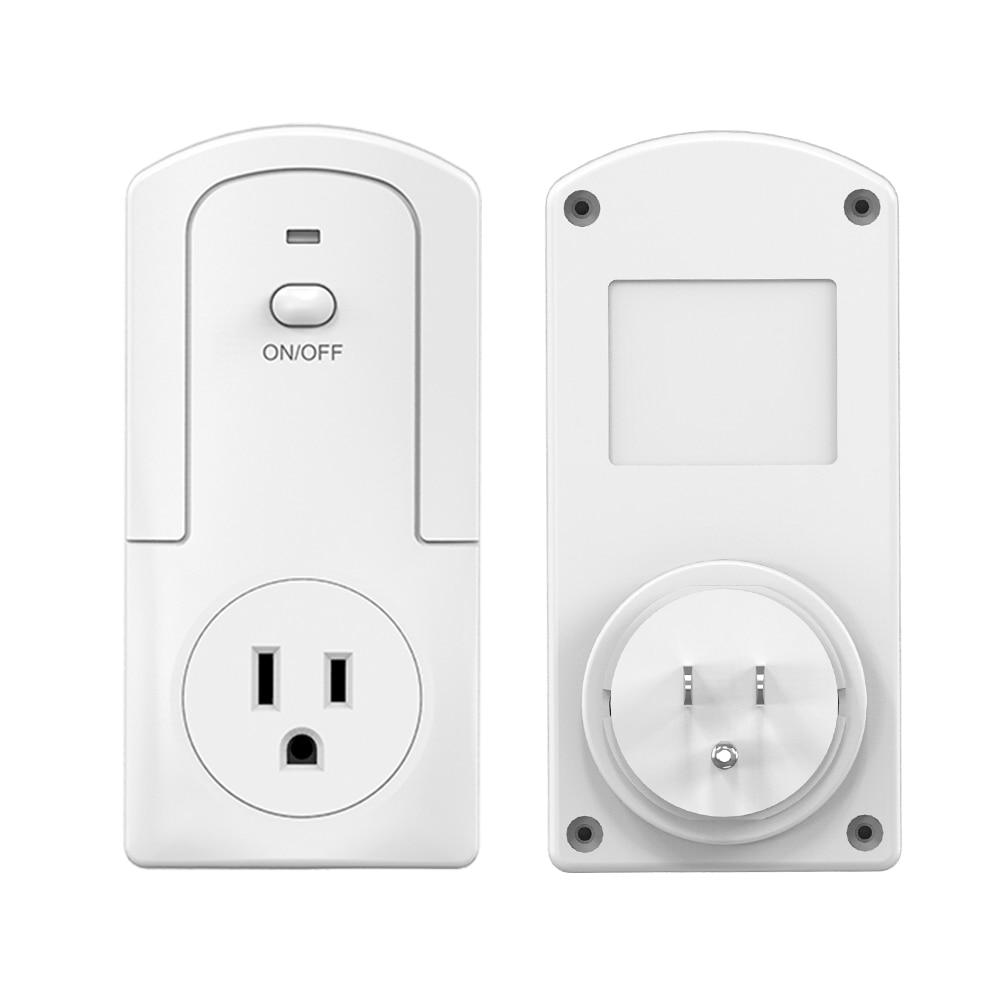 Smart Switch EU/UK/US WiFi Plug Remote Control Thermostat & Humidistat Timer Auto/Manual Stat Feedback Function Switch