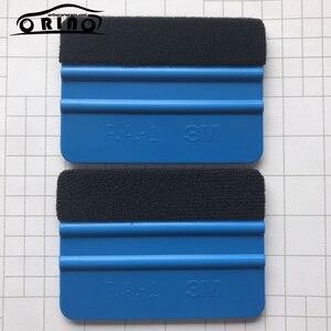 Image 2 - Filz Rakel Vinyl Auto Verpackung Werkzeug Carbon Faser Folie Vinyl Schaber Fenster Tönung Auto Glas Reinigung werkzeug Pinsel Hand Werkzeuge
