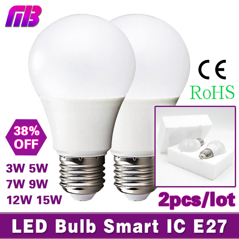 led bulb lamp e27 3w 5w 7w 9w 12w 15w 220v cold white warm white lampada ampoule bombilla led. Black Bedroom Furniture Sets. Home Design Ideas
