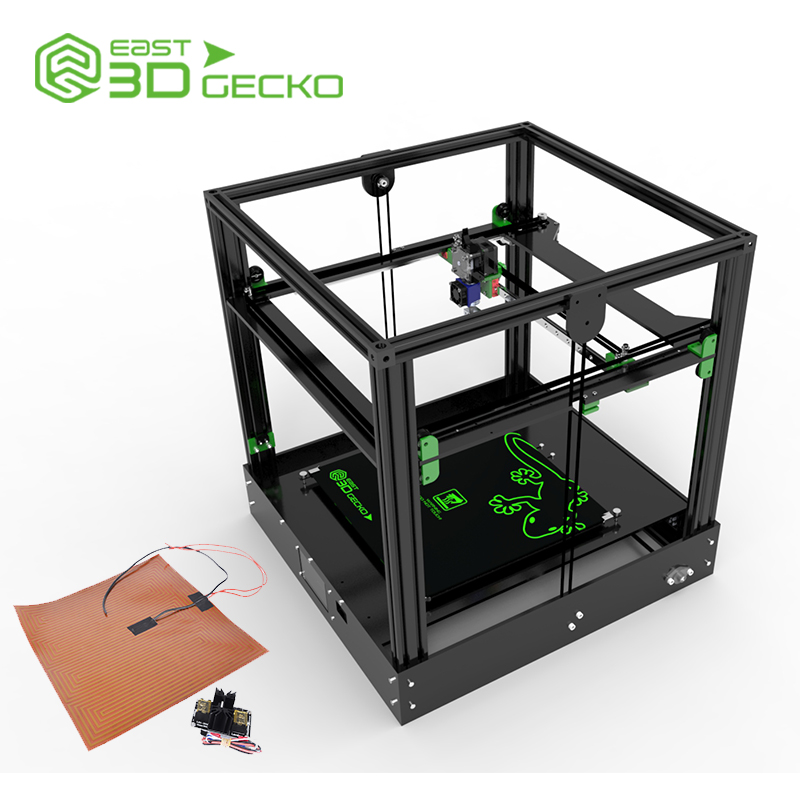 3D Printer East Gecko,DIY,TM drive,Strengthen the shell of aluminum plastic sheetC2100, stepping motor,256 subdivision environmentally friendly pvc inflatable shell water floating row of a variety of swimming pearl shell swimming ring