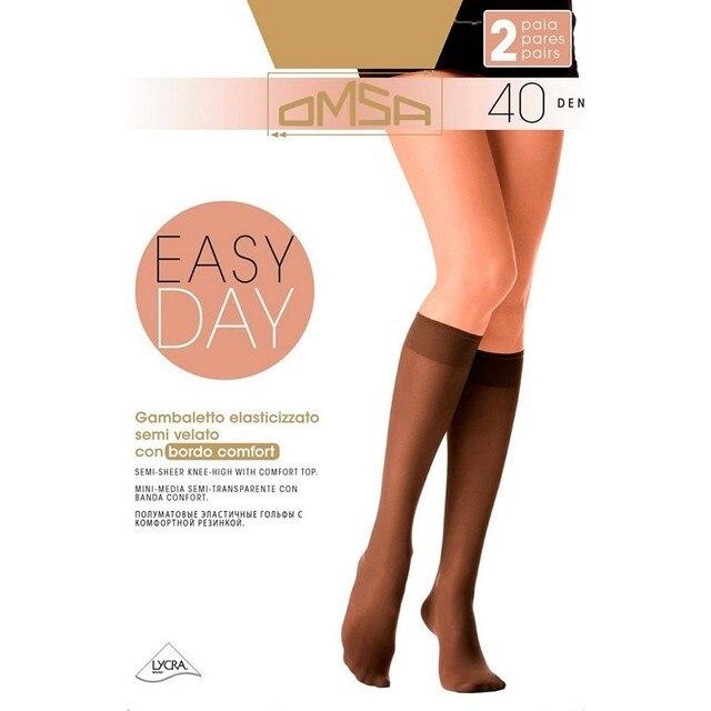Гольфы женские Omsa GAMB. EASY DAY 40 (2 пары)