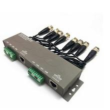 8 channel passive video Transmitter for Coaxial cable HD CVI CVI UTP