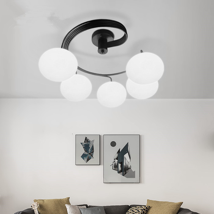 Contemporary ceiling light and contracting sweet bedroom lamp creative personality children art room restaurant led lamps in pendant lights from lights
