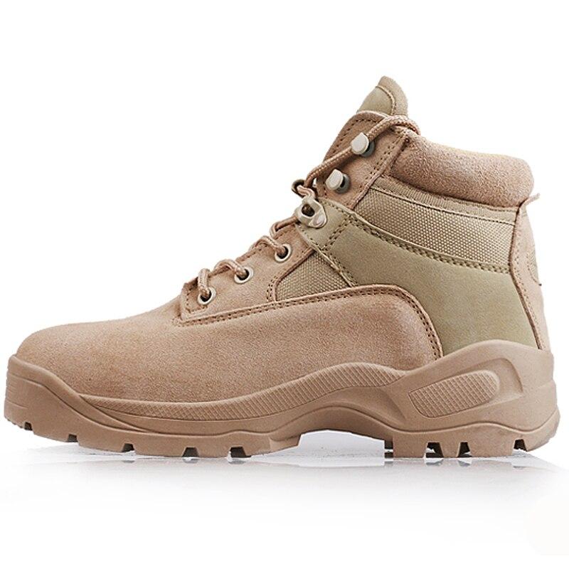 Sapatos Militares Boots De Do Sandy Exército Viagem Rendas Homens Táticas Respirável Combate Ankle Deserto Até Trabalho Botas Wearable Dos qwSX0HtO