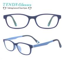 e5718ba9c8 Kids Oval Ultem Spectacles Girl Boy Soft Eyeglass Frames Lightweight and  Flexible Prescription Glasses(China