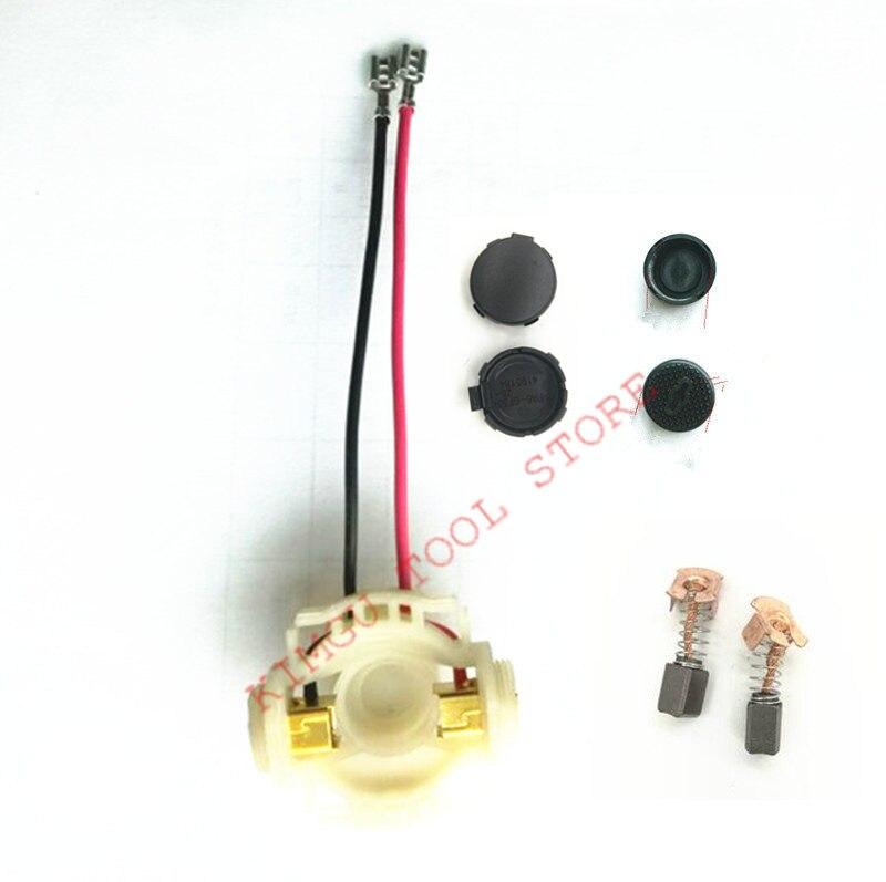 Carbon Brush Holder For MAKITA 638921-2 638448-2 DGA402RFE DGA402RME BGA402RFE DGA402Z DGA402 DGA402SFJ