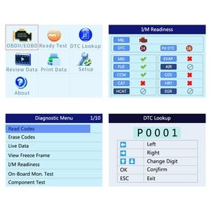 Image 2 - Autel הקישור האוטומטי AL519 משופר OBD2 אוטומטי סורק קוד קורא כלי גרפים נתונים