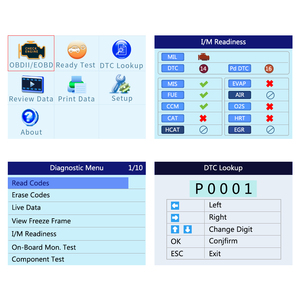 Image 2 - Autel AutoLink AL519 Enhanced OBD2 Auto Scanner Code Reader Tool Graphing Data