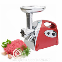 Elektrikli 800 W et işleme makinesi endüstriyel kıyma makinesi Kıyma sosis makinesi 3 Kesme Bıçakları Beyaz/Kırmızı/Siyah Renkler