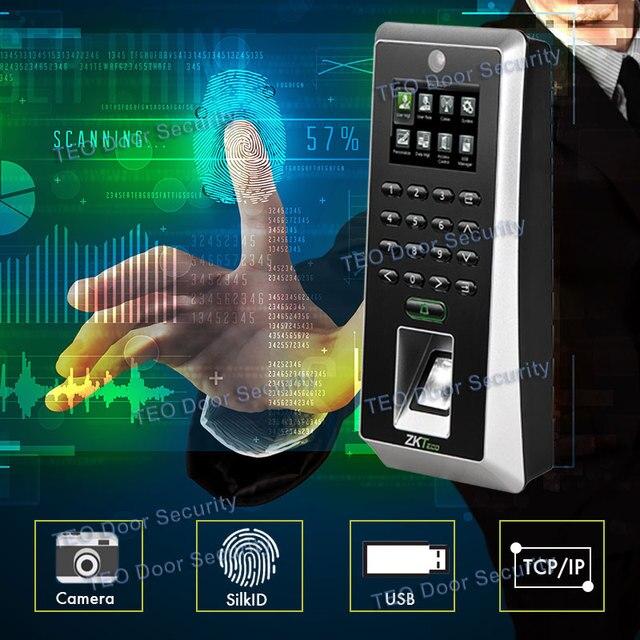 Newest Hardware Platform ZMM220 F21 Bio ID Sensor Fingerprint Reader with Camera Biometrics Fingerprint Machine 3000Users