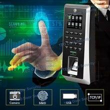 Più nuovo Ferramenteria e attrezzi Piattaforma ZMM220 F21 Bio ID Sensore di Impronte Digitali Fingerprint Reader con la Macchina Fotografica Biometria Delle Impronte Digitali Della Macchina 3000 Utenti