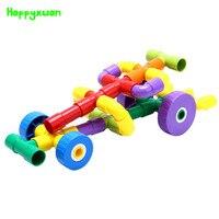 50pcs Set Kids Plastic Tunnel Blocks Toys Educational Building Blocks Kits Sets For Children S Creativity