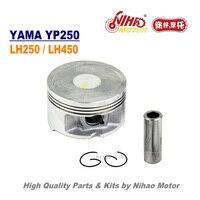TZ 50 250/260cc Piston Assy 69/70mm Ring Set LINHAI Parts YP250 LH250 ATV QUAD Chinese Motorcycle Engine Spare Nihao Motor