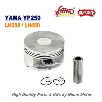 TZ-50 250/260cc pistón Assy 69/70mm anillo de LINHAI a YP250 LH250 ATV QUAD chino repuestos de Motor de motocicleta Nihao Motor