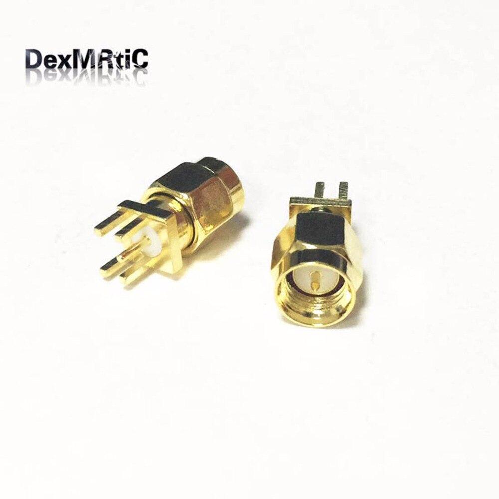 ⑤1 unid SMA macho enchufe RF coaxial conector lanzamiento de ...