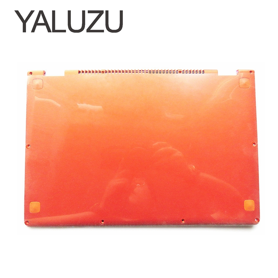 YALUZU NEW Laptop Bottom Base case Cover For Lenovo YOGA 13 orange D shell 11S30500246 lower case new case cover for lenovo g500s g505s laptop bottom case base cover ap0yb000h00