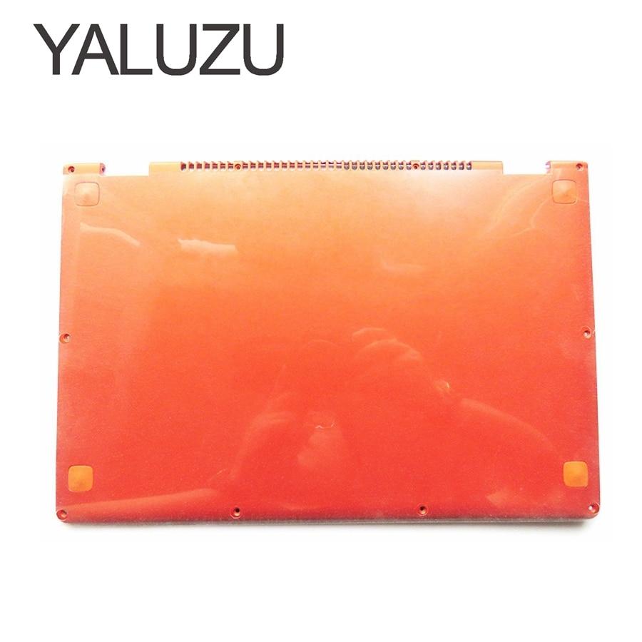 YALUZU NEW Laptop Bottom Base case Cover For Lenovo YOGA 13 orange D shell 11S30500246 lower case yaluzu new laptop bottom base case cover for lenovo y580 y585 y580n mainboard bottom casing case base replace d shell lower case