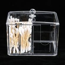 Transparent Desktop Makeup Tools Container Storage Box Cotto