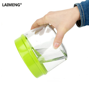 Image 4 - LAIMENG High Quality Plastic Vacuum Sealer Canister Large Capacity 2200ml Vacuum Container For Marinating S170