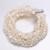 DAIMI Preciosa pulsera Strand 10 perlas de agua dulce de la joyería conjunto de la vendimia del envío [ llovizna ]