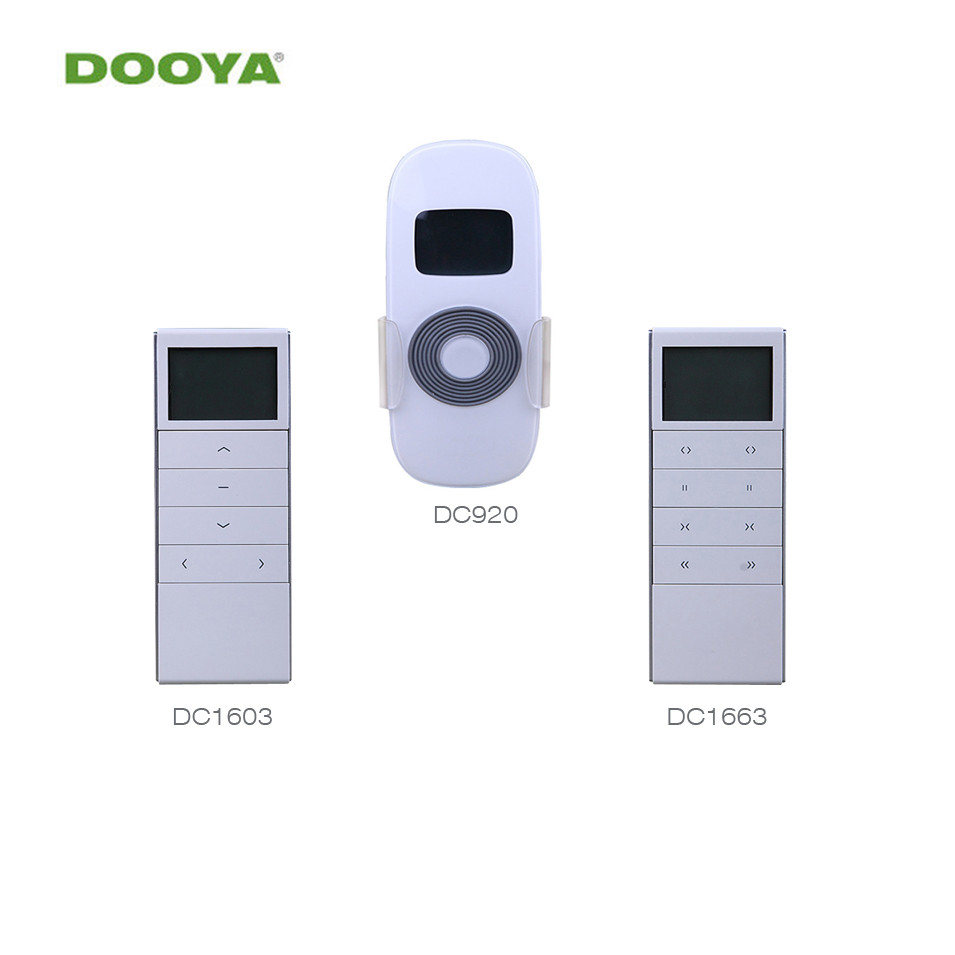 Dooya Timing open and close Remote Controller DC1603 DC1663 DC920 for Dooya Electric Curtain Motor KT320E/DT52E/KT82TN/DT360E dooya dc1653 wall switch 15 channel emitter remote controller for electric curtain motor curtain accessories for kt320e dt52e