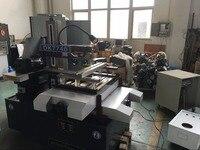 DK7740 CNC EDM wire cutting cut machine