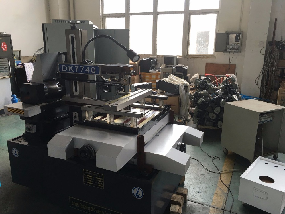 DK7740 CNC EDM wire cutting cut machine image
