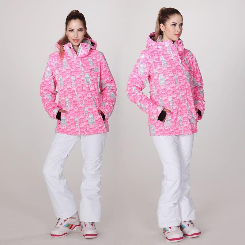 esquí de traje de para Gsou mujer color snowboard nieve de QChtrBosdx