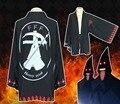 FFF Ересь Суда Группы Шифон Плащ мужчины Женщины шаль Банные Халаты кимоно Хэллоуин подарки мужчины черное пальто косплей custume