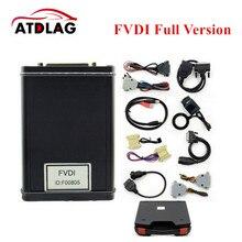 Newest FVDI Full Version (Including 18 Software) FVDI ABRITES ABRITES Commander Without Limited FVDI Diagnostic Scanner DHL Free