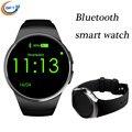 Dispositivos portátiles de gft kw18 smart watch relojes soporte de frecuencia cardíaca bluetooth conecta el despertador inteligente smartwatch llamada de recordatorio