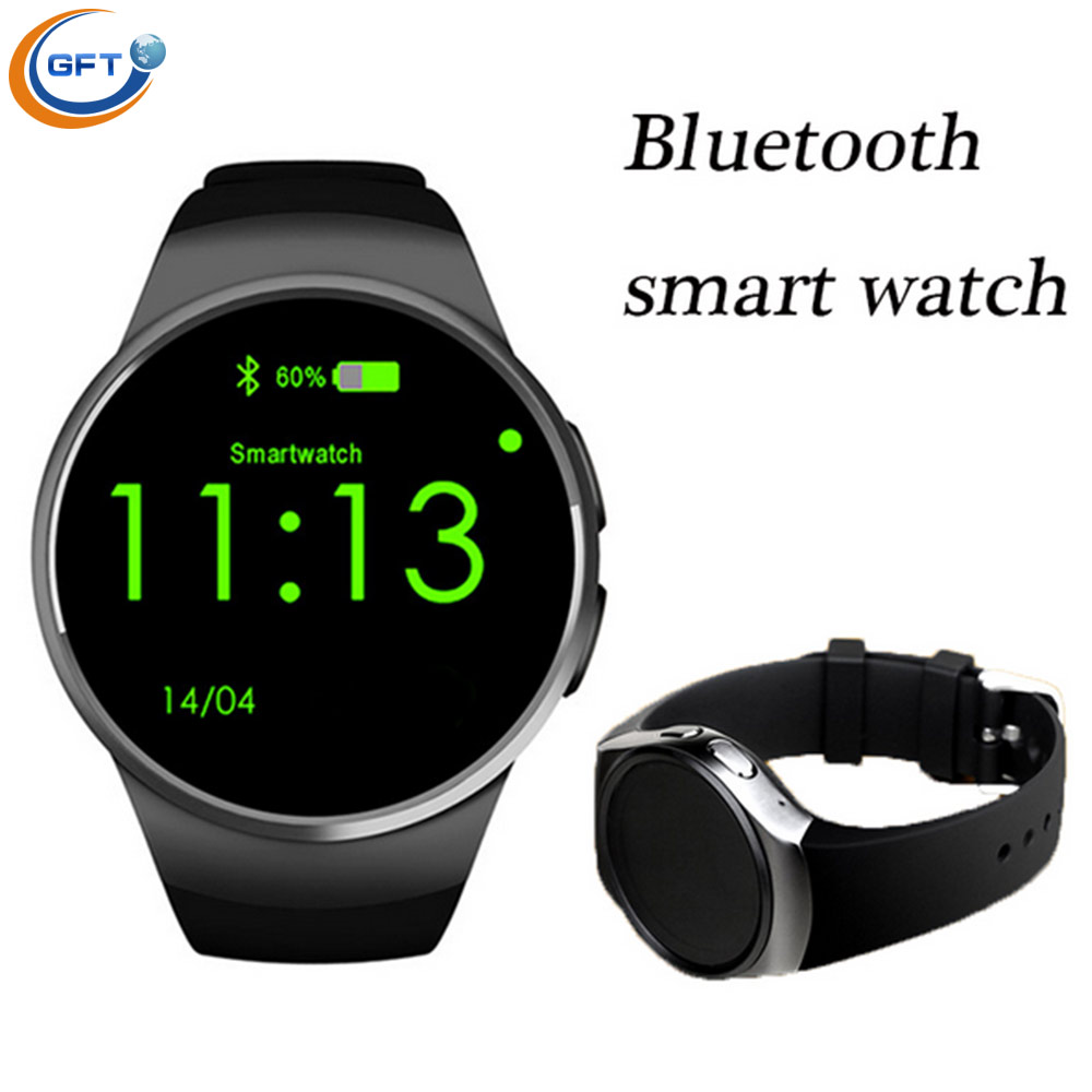 GFT Wearable Devices kw18 Smart Watch Bluetooth Connect Clock Smart Watches Support SIM Card Phone font