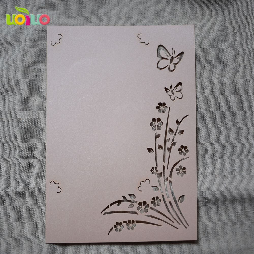 Price For Wedding Invitations: Cheap Price Wedding Invitation Card 50sets With Envelops