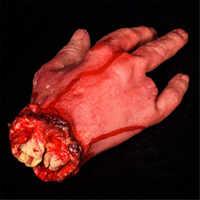 Dedos rotos mano pie sangre Horror broma Juguetes decoración de Halloween mano sangrienta cortada novedad muertos mano rota Gadgets