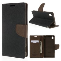 New Luxury Original Mercury Goospery Fancy Diary Case Flip Leather Holster Card Slot Wallet Stand For