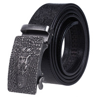 Famous Brand Mens Belts Luxury Brand Designe 100 Top Layer Leather Male Strap Casual Automatic Buckle