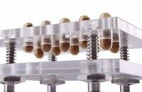 ALLEEN $20.9 mini Handleiding capsule filler alle size capsules (000 #-5 #)  10 pcs/time