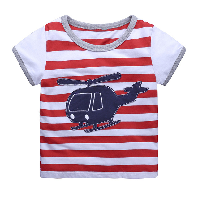 Summer Toddler Baby Boys Cotton T-Shirts