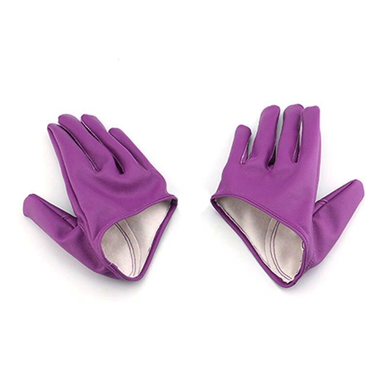 ᐃMujer de alta calidad media palma guantes mitones guantes ...