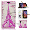 BTD FRANCE - CIRCA 1939 Eiffel Tower Postage Stamp Luxury Case Paint For Asus Zenfone 2 Cover Shell ZenFone2 ZE551ML ZE550ML