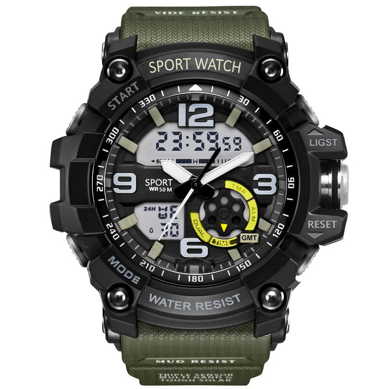 G Military Shock Men Watches Sport Watch LED Digital 50M Waterproof Casual Watch Male Clock 759 relogios masculino Watch relojes(China)