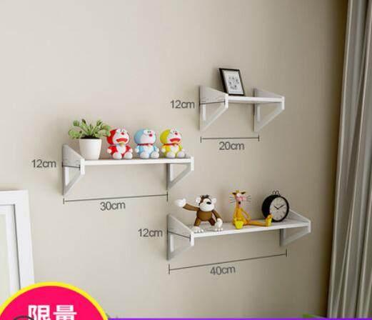 Dinding Rak Gratis Meninju Bunga Bingkai Hiasan Ruang Tamu R Tidur Dekorasi Sederhana Buku Tv Satu Kata