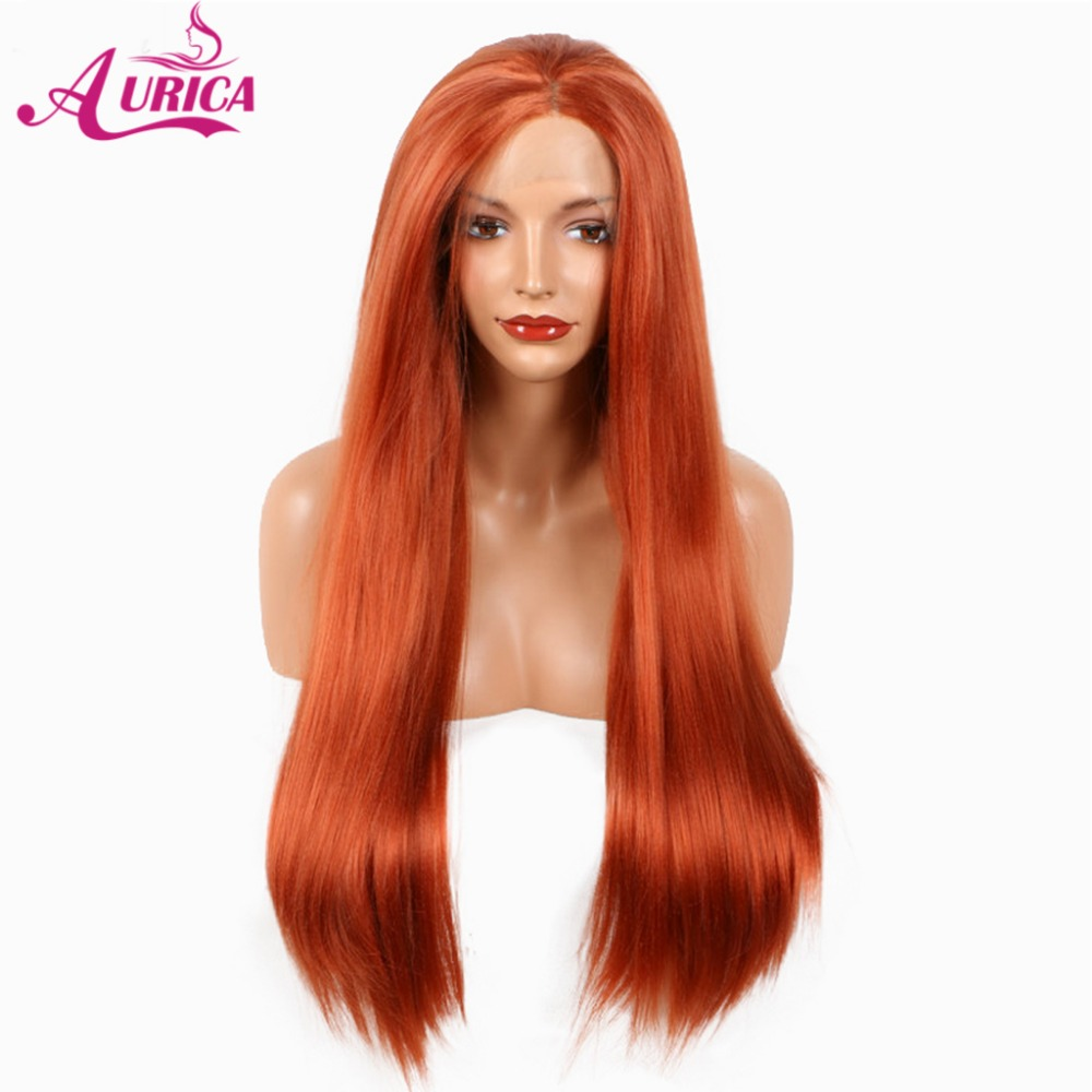 Aurica Thick Heat Safe Synthetic Hair Lace Front Wig For Halloween ...
