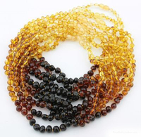 32cm 35cm 40cm 45cm Customized Baby Adult Natural Amber Necklace Jewelry Gifts Certified Authentic Genuine Baltic