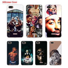 Silicone Phone Case 2Pac Tupac Amaru Shakur for Xiaomi Redmi S2 Note 4 4X 5 5Pro 5A Plus 6 6A 7 Pro Cover