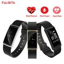 Браслет Фитнес трекер Смарт-часы с Приборы для измерения артериального давления сердечного ритма Мониторы Смарт Браслет с Шагомер вызова Сообщение Напомнить